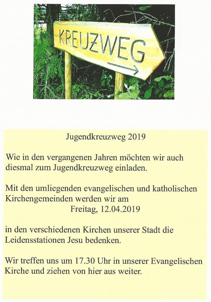 Jugendkreuzweg 2019